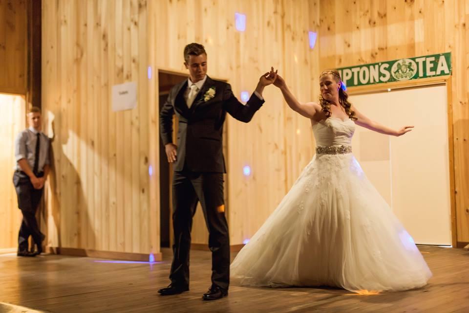 First Wedding Dance Action
